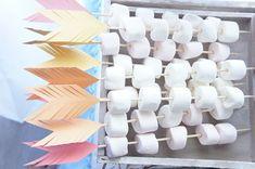 Arrow marshmallow kabobs from a Pow Wow Birthday Party on Kara's Party Ideas – … Arrow Marshmallow Kabobs von einer Pow Wow Geburtstagsfeier zu Karas Partyideen – Basteln – Indian Birthday Parties, Wild One Birthday Party, Indian Party, First Birthday Parties, Baby Party, Birthday Party Themes, First Birthdays, Fruit Birthday, Birthday Games