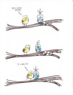 I like it too!  via visual art and illustration