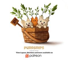 Day+1400.+Purrsnips+by+Cryptid-Creations.deviantart.com+on+@DeviantArt