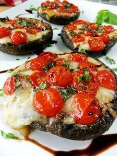 Perfect recipe if you follow the Mediterranean diet (which supports bones): Caprese Style Portobello Mushrooms