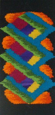 Modified Tapestry Design - Weaving Today Loom Yarn, Loom Weaving, Hand Weaving, Weaving Textiles, Tapestry Weaving, Wall Tapestry, Contemporary Tapestries, Tapestry Design, Sewing Art