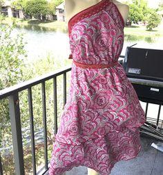 Silk Skirt Reversible Wrap by Ethnix Unique Vintage Design Free Size Washable #Ethnix #WrapSarong