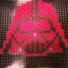 Darth Vader Star Wars perler beads by noeyybabyy