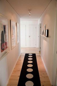 hall - lighten up my long hallway.  Paint the dark paneling.