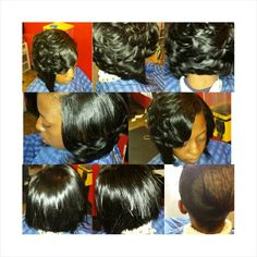 Quick Weave Layered Bob