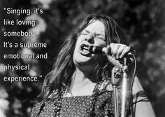 She's more than a rock star who died at 27. Janis is an important figure in rock and roll, who had great insight on the world and music.