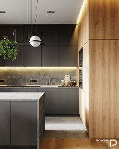 9 Affordable Must See Kitchen Makeovers - House Topics Luxury Kitchen Design, Kitchen Room Design, Home Decor Kitchen, Kitchen Living, Kitchen Furniture, Kitchen Interior, Before After Kitchen, Cocinas Kitchen, Budget Home Decorating