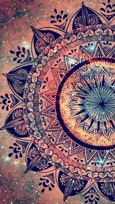 art, backgrounds, colores, inspiration, life, mandalas, wallpapers, First Set on http://Favim.com