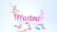 Ehi, ho trovato questa fantastica inserzione di Etsy su https://www.etsy.com/it/listing/507650178/cake-topper-happy-birthday-ballerina