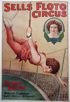 Find your PERFECT circus performer/aerialist at GigMama.com The Circus, 1870-1950 by TASCHEN