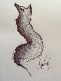 #Fox #Draw #Drawing