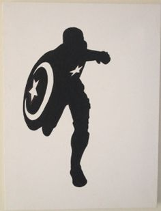 captain america silhouette - Google Search
