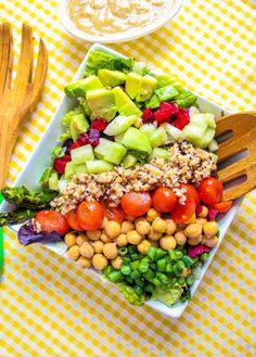 copy cat CCF salad and dressing