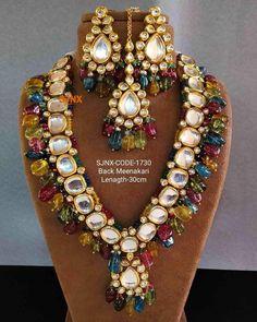 Bridal Necklace Set, Bridal Bangles, Bridal Jewelry Sets, Wedding Jewelry, Bridal Jewellery, Antique Jewellery Online, Fancy Jewellery, Temple Jewellery, Designer Jewellery