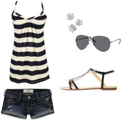 Casual summer outfit♥