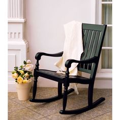 International Lyon Porch Rocking Chair