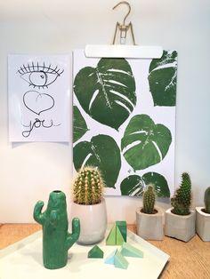 Urban Jungle Bloggers: Plants & Art by @mimemerzenich