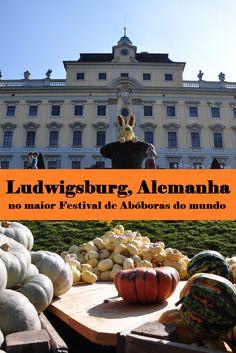 Visitamos a cidade de Ludwigsburg, no estado de Baden-Württemberg na Alemanha, onde aproveitamos o Kürbisausstellung, o maior Festival de Abóboras do mundo.