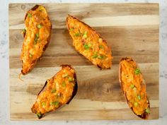 Get Twice-Baked Sweet Potatoes Recipe from Food Network
