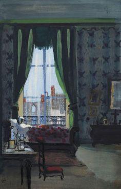 Bernard Lamotte (1903-1983), In Her Bedroom