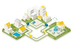 "Optus ""New Life"" by Yuji Sekiya, via Behance"