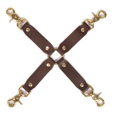 Red Room Collection Hog Tie Brown