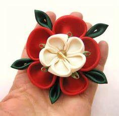 Tudor Rose Brooch or Hair Clip