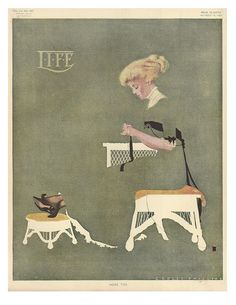 U.S. Life, Oct. 14, 1909 // by Coles Phillips | Flickr