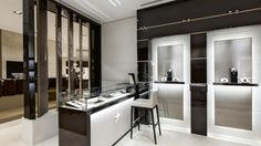 The Latest Boutiques: Rolls Royce, Piaget & Louis Vuitton Jewelry Store Design, Jewellery Display, Jewelry Shop, Jewelry Stores, Lucerne, Retail Design, Display Case, Boutique, Interior Design