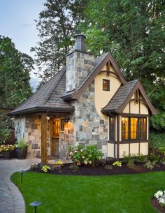 English Tudor Design Ideas, Pictures, Remodel, and Decor - page 17
