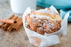 Apple Muffins - 10 Guilt-Free Muffin Recipes for Fall - Shape Magazine Healthy Treats, Healthy Desserts, Yummy Treats, Sweet Treats, Dessert Recipes, Yummy Food, Healthy Food, Healthy Muffins, Healthy Cooking