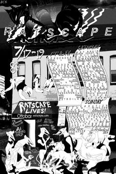 RATSCAPE 2015 Graphisches Design, Layout Design, Bloom Book, Typography Poster Design, Chef D Oeuvre, Cool Posters, Layout Inspiration, Illustrations And Posters, Editorial Design