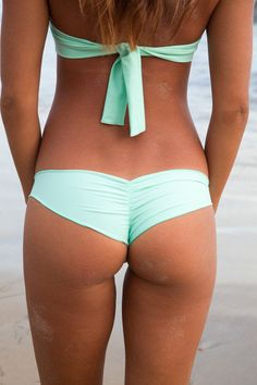 The Girl and The Water - Posh Pua 2014 - Niu Bikini Bottom Mint - $62 - BIKINI on InStores