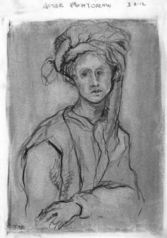 Tim Dayhuff - drawings - after Pontormo