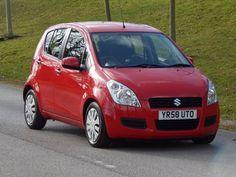 Used 2008 (58 reg) Red Suzuki Splash 1.2 GLS 5dr for sale on RAC Cars