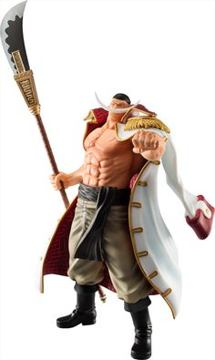 "One Piece ""Hybrid Grade Whitebeard Pirate Crew"" figure set"