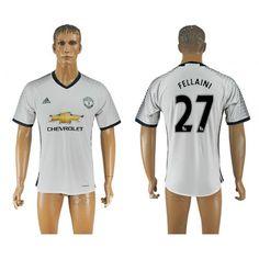 Manchester United 16-17 #Fellaini 27 3 trøje Kort ærmer,208,58KR,shirtshopservice@gmail.com