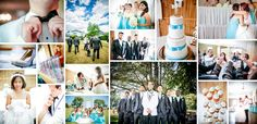 Wedding Collage from wedding in surrey BC by Aplauso Studios