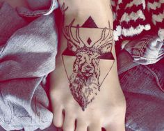 I feel like getting a really cool looking Stag tattoo is the sort of Hipster way of saying you're from the Mid-West but cool. But I like it! I haven't seen a bad one yet.