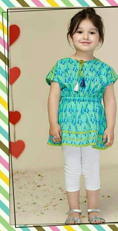 Girls Dresses Sewing, Dresses Kids Girl, Kids Outfits, Cotton Frocks For Kids, Frocks For Girls, Girls Frock Design, Baby Dress Design, Baby Frocks Designs, Kids Frocks Design
