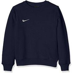 816bd413091 Nike Pull à manches longues pour Enfant Mixte - Bleu (Obsidian/Football  White) - L (147 - 158 cm)   -
