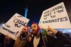 Prémonitions #archive 2012-05-06 #Hollande #France #Paris #election #presidentielle #report (à Place de la Bastille)