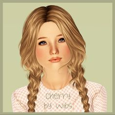 Cherry female model by Wibs - Sims 3 Downloads CC Caboodle