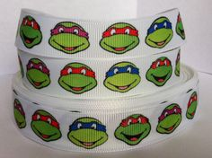 5 Yards Teenage Mutant Ninja Turtles Printed by RibbonsForLess, $3.45