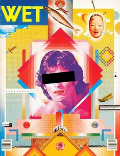 April Greiman with Jayme Odgers, Wet magazine cover, 1979. Source: Victoria and Albert Museum, London. From the essay: Did We Ever Stop Being Postmodern?