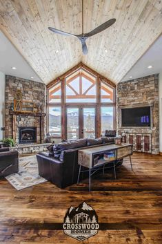 Pikes Peak Living Room