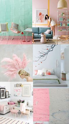 Pastel interiors...our current favourite! http://www.helloyellowinteriors.com/