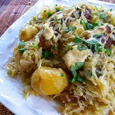 Chicken Apple Sausage with Cabbage - Allrecipes.com