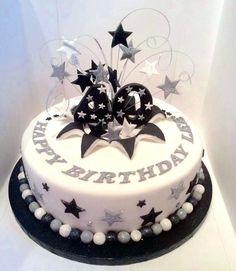 Elegant Picture of Birthday Cakes For Men . Birthday Cakes For Men Mens Birthday 40th Birthday Cakes For Men, 40th Cake, Birthday Cupcakes, 25th Birthday, Birthday Cake Pinterest, Pinterest Cake, Elegant Cakes, Creative Cakes, Celebration Cakes