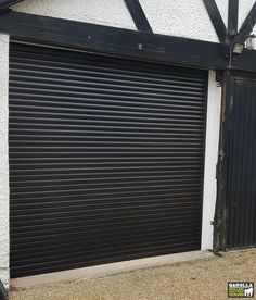 Black Garage Doors within our collection or Roller Garage Doors for sale are effortlessly stylish. With insulated roller garage doors from Garolla you can ente your home in style. Click the link to see our auto roll garage doors. Garage Doors For Sale, Black Garage Doors, Black Doors, Roller Doors, Roller Shutters, Black Garden, Blinds, Entryway, Outdoor Decor